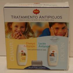 Pack Antipiojos Locion+Champu ORION, 300 ML.